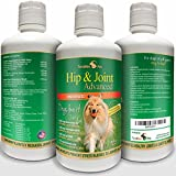 Concentrated Liquid Glucosamine for Dogs ? Advanced Hip and Joint Supplement with Chondroitin, MSM, Hyaluronic Acid and More ? Safe & Natural Arthritis Pain Relief for Dogs ? 32 oz Bottle ? Made in USA! ?!