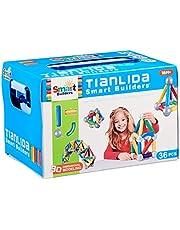Smart Builders Tianlida 3D Magnetic Building Blocks for Kids - 36 Pieces
