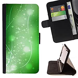 DEVIL CASE - FOR Samsung Galaxy S6 EDGE - Nature Beautiful Forrest Green 36 - Style PU Leather Case Wallet Flip Stand Flap Closure Cover