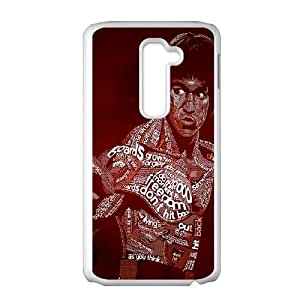 LG G2 Cell Phone Case White Bruce Lee JNR2121093