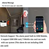 AGSHOME Security Alarm System 99+8 Zone Auto Dial