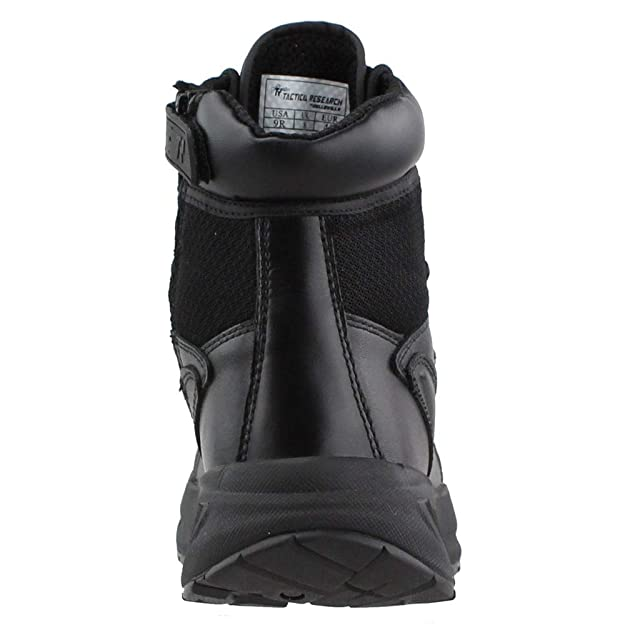 Amazon.com | Tactical Research Mens 6 inch Fatt Maxx Side Zipper Work/Duty Boots | Hiking & Trekking