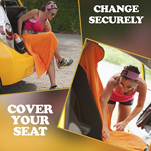 Orange Mud Transition & Seat Wrap - Orange
