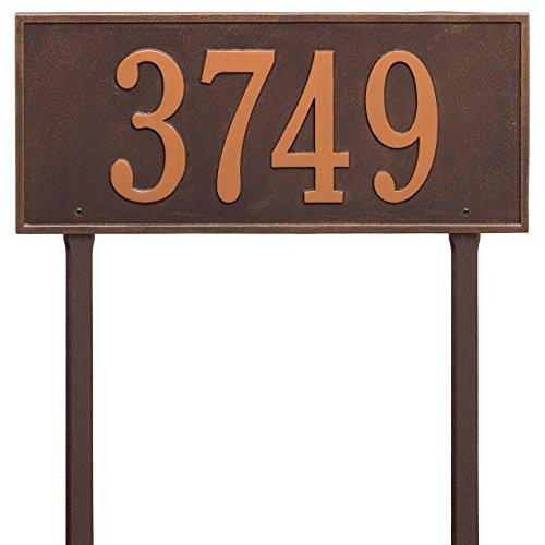 Custom Hartford LAWN 1 Line Address Plaque 23