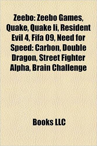 Zeebo: Zeebo games, Quake, Quake II, Resident Evil 4, Opera ...