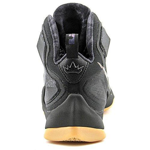 Nike Herren Lebron XIII Basketballschuhe, Talla Schwarz / Grau (Schwarz / Schwarz-Anthrazit)