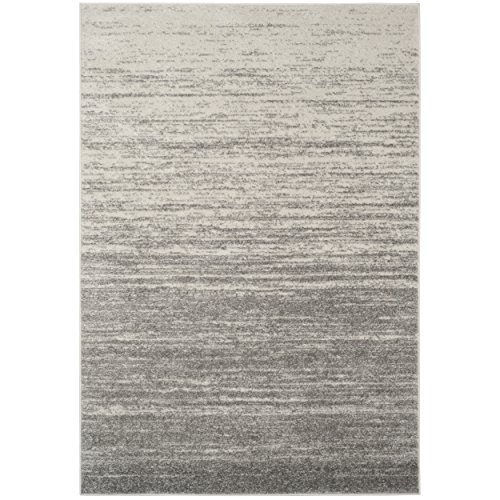 Safavieh Adirondack Collection ADR113C Light Grey and Grey Modern Area Rug (3' x 5') (Rug Area Grey 3x5)