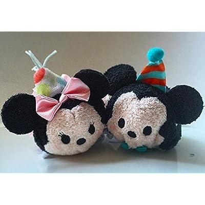 Disney 2016 Mickey Minnie Mouse Birthday Tsum Tsum Set: Toys & Games