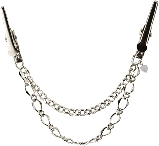 Handcuffs Cardigan clip chain Shawl chain Pashmina pin Sweater fastening Wrap holder Silver freedom handcuff sweater clip