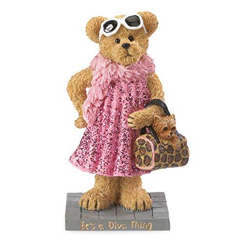 (Boyds Bears Resin MS FABULOUS ..ITS A DIVA THING 4044573 Diva Classy Bear)