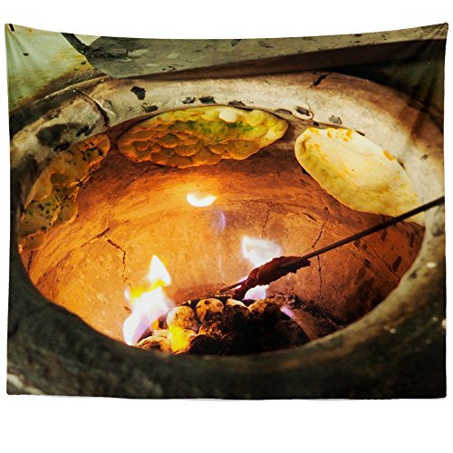 Westlake Art - Cooking Bread - Wall Hanging Tapestry - Picture Photography Artwork Home Decor Living Room - 68x80 Inch (32BB2) -