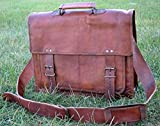 Leather Briefcase for Men and Women 18 inch