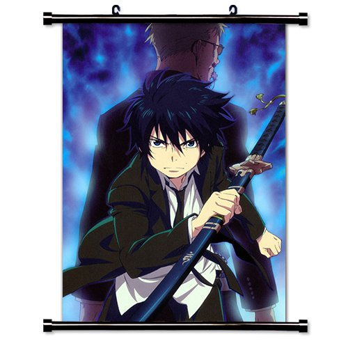 (Blue Exorcist Anime Fabric Wall Scroll Poster (16 x 24) Inches.)