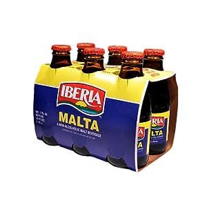 Amazon.com : Iberia Malta 6 Pack : Soda Soft Drinks