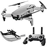 MightySkins Skin For DJI Max Coverage - Cold Steel | Protective, Durable, and Unique Vinyl Decal wrap cover | Easy To Apply, Remove, and Change Styles | Made in the USA
