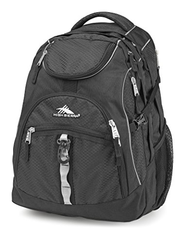 Cheap High Sierra Access Laptop Backpack, Black