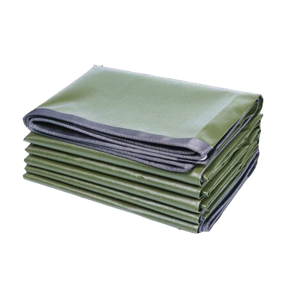 DALL ターポリン 耐寒性 タープ 片面 防水 日焼け止め 多目的 シェードクロス (色 : 緑, サイズ さいず : 4×4m) 4×4m 緑 B07KWNCZZN