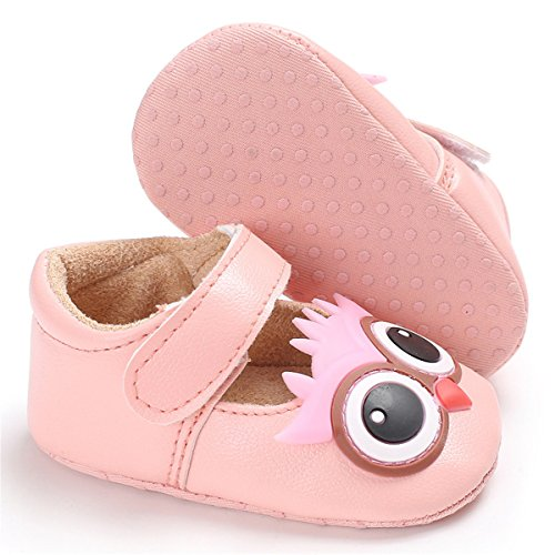 Pictures of Meckior Infant Baby Boys Girls Soft Sole 3