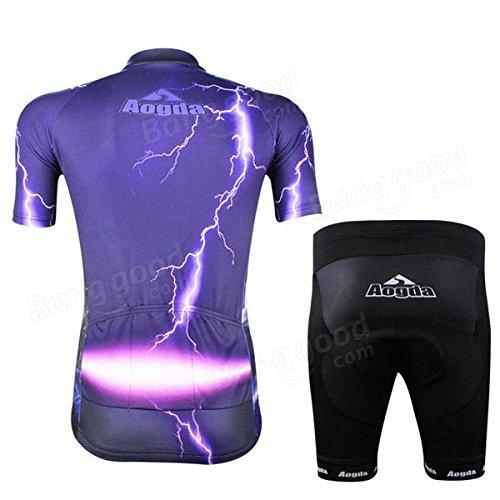 Moppi Mens vélo Bike Shorts vêtements sportswear costume vélo chiffon de dossard