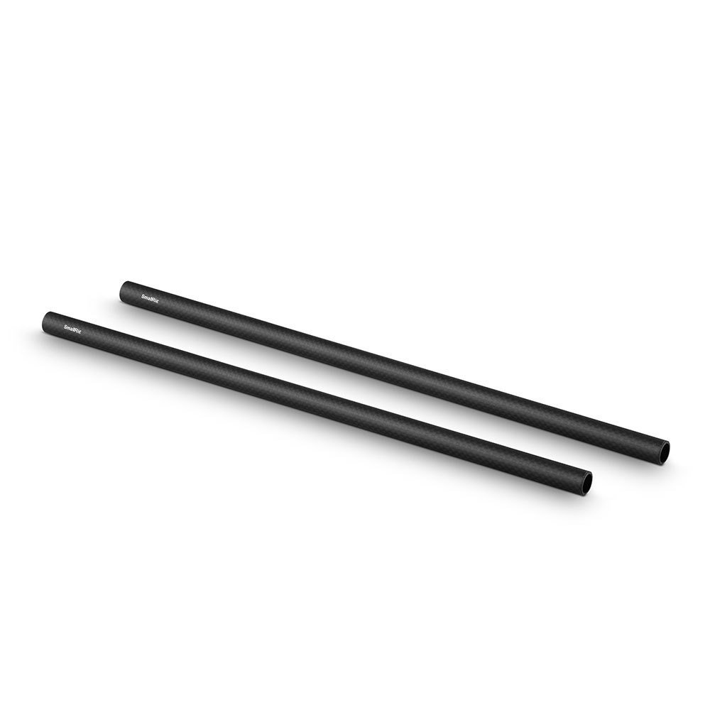 SMALLRIG 851 Pack x 2  15mm Carbon Fiber Rod 30cm 12 inch...