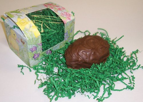 Scott's Cakes 1 Pound Chocolate Peanut Butter Fudge Easter Egg Covered in Milk Chocolate