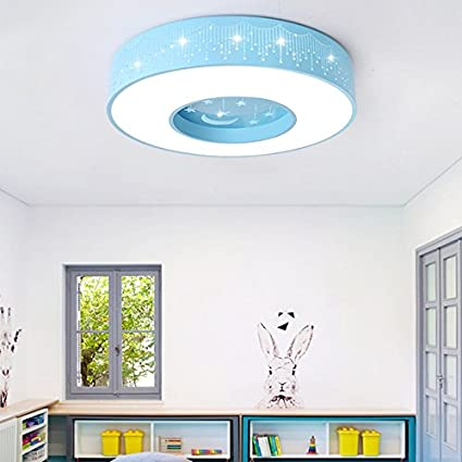 Decken Leuchte Kinder Spiele Zimmer Lampen Glas Jungen Mädchen Raum Beleuchtung
