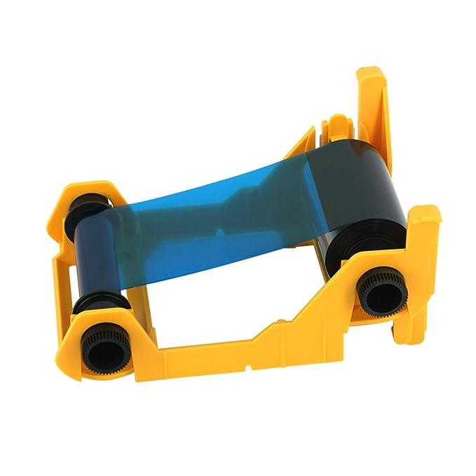 800017-240 YMCKO Color Ribbon para Impresora de Tarjetas de ...