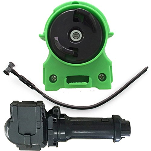 JJQ-TOYS Green Beyblade Ripper Light Launcher 2 BeyLauncher with Ripcord + String Grip