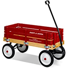 Radio Flyer Town u0026 Country Wagon 100... $79.54  sc 1 st  dealepic & $99.00 Radio Flyer Deluxe All-Terrain Pathfinder Wagon with Canopy ...