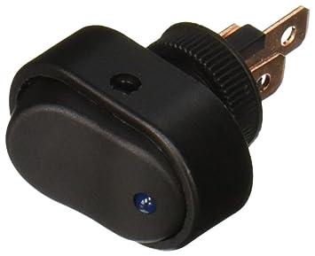 amazon com hotsystem 30 amp 12 volt led on off rocker switch for hotsystem 30 amp 12 volt led on off rocker switch for car motorcycle boat marine