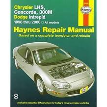 Chrysler Lhs, Concorde, 300m & Dodge Interprid: 1998-2000