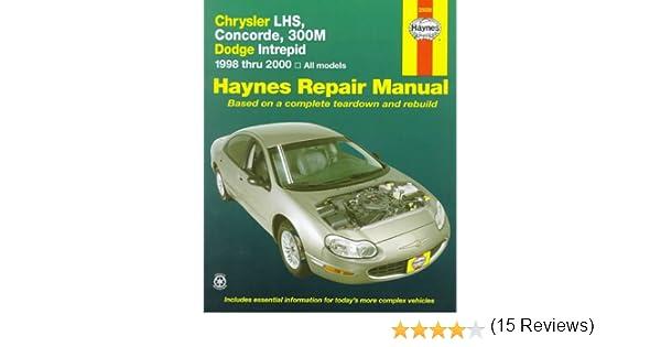 Chrysler lhs concorde 300m dodge intrepid 1998 thru 2004 chrysler lhs concorde 300m dodge intrepid 1998 thru 2004 haynes automotive repair manual series chilton 9781563923630 amazon books fandeluxe Gallery