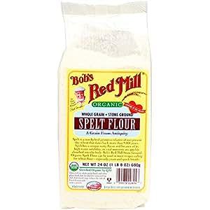 Amazon.com : Bob's Red Mill Organic Spelt Flour - 24 oz