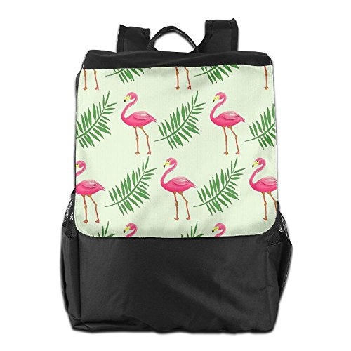Women HSVCUY Storage For Dayback Travel Strap Red Men Backpack Shoulder Beach School Outdoors Adjustable And Flamingos Personalized Camping Fr1qFZ7