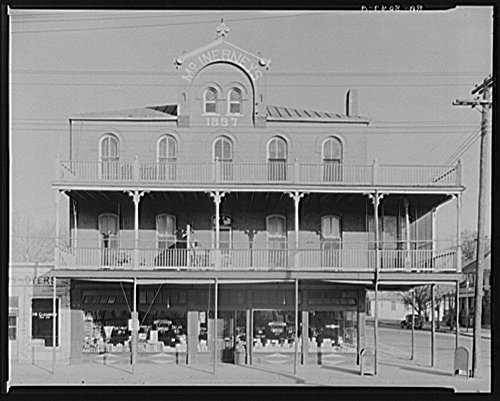 1890s commercial architecture. Vicksburg, Mississippi by Historic Photos