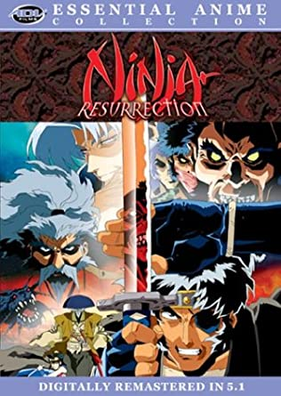 Amazon.com: Ninja Resurrection (Essential Anime Collection ...