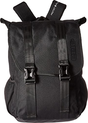 EPIC Travelgear Unisex Proton Plus Flyer Backpack Black One Size -