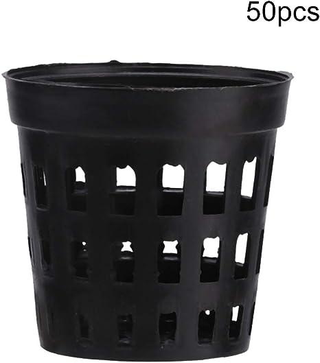 Aquatic Garden Planting basket of Hydroponic Grow Kit Plant Plastic Basket Net