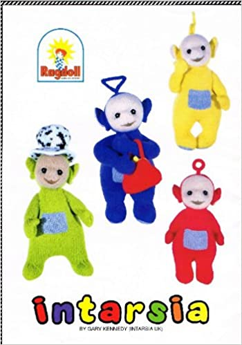 Teletubbies 4 Toys By Gary Kennedy Knitting Patterns Amazon