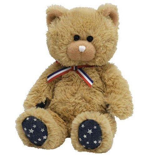 Ty Beanie Babies Uncle Sam - Bear Tan (Uncle Sam Bear)