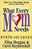 What Every Mom Needs, Elisa Morgan and Carol Kuykendall, 0310200970