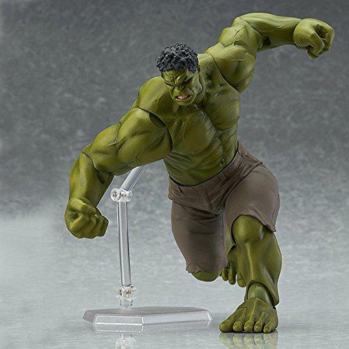 Marvel Avengers Figma Hulk Anime Movable Action Hero Figure Toy Doll Model 17cm