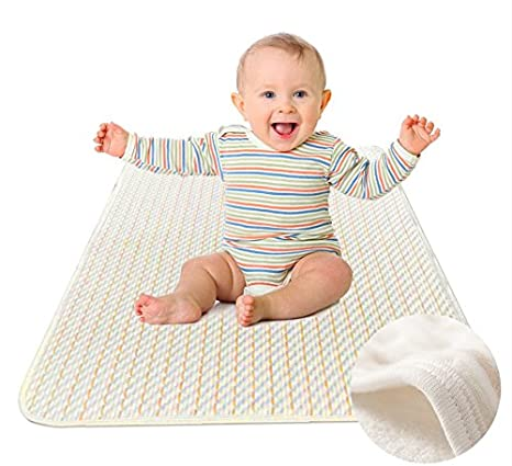 Review Premium Quality Bed Pads Washable Waterproof Blanket Sheet Soft and Absorbent Urine Pads for Baby Toddler Children and Adults with Incontinence by Yoofoss