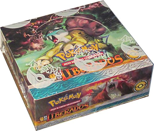 Pokemon HS Liberados Booster Box [Spanish Version of Unleashed] ()