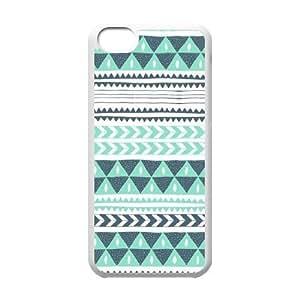 MMZ DIY PHONE CASEGreen Tribal Pattern ZLB556320 Personalized Phone Case for iphone 5c, iphone 5c Case