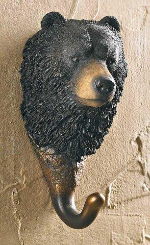 - Black Bear Wall Hook