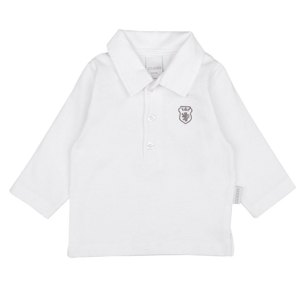 STUMMER Celebration Baby Jungen Poloshirt Wei/ß