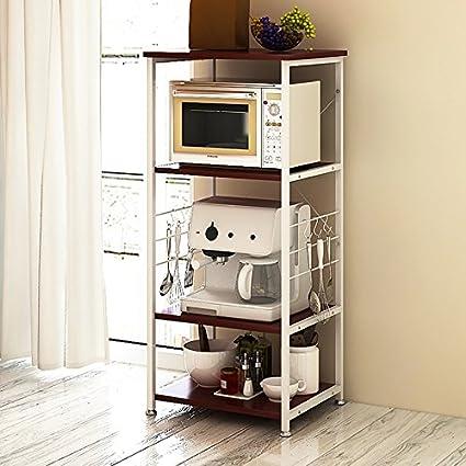 Estante de almacenamiento de cocina multicapa Horno de ...