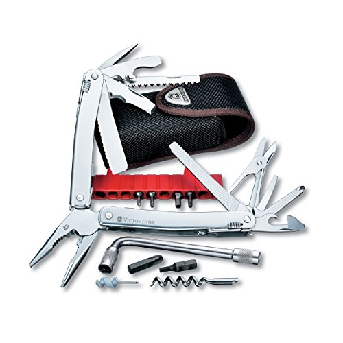 Victorinox Swiss Army SwissTool Spirit Plus Multi-Tool, Includes Nylon Pouch