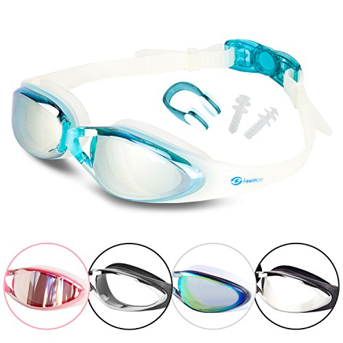 i-sports-pro-anti-fog-uv-protected-swim-goggle-blue